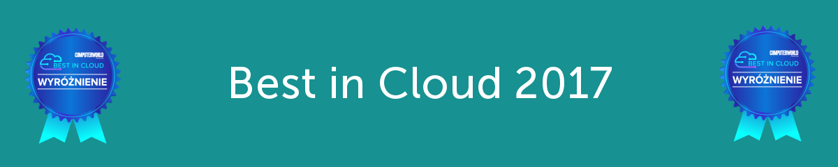 Best in Cloud 2017 – EmailLabs wyróżniony