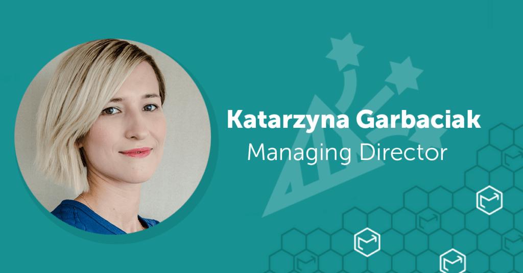 Katarzyna Garbaciak nowym Managing Directorem w EmailLabs