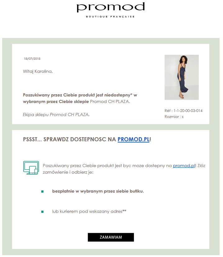 Emaile transakcyjne w dużym e-commerce