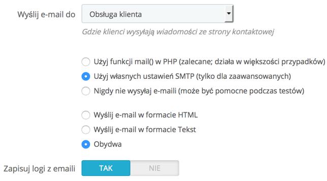 Serwer SMTP w Prestashop – integracja z SMTP EmailLabs