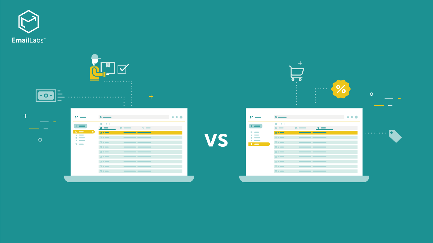 The difference between transactional and marketing email