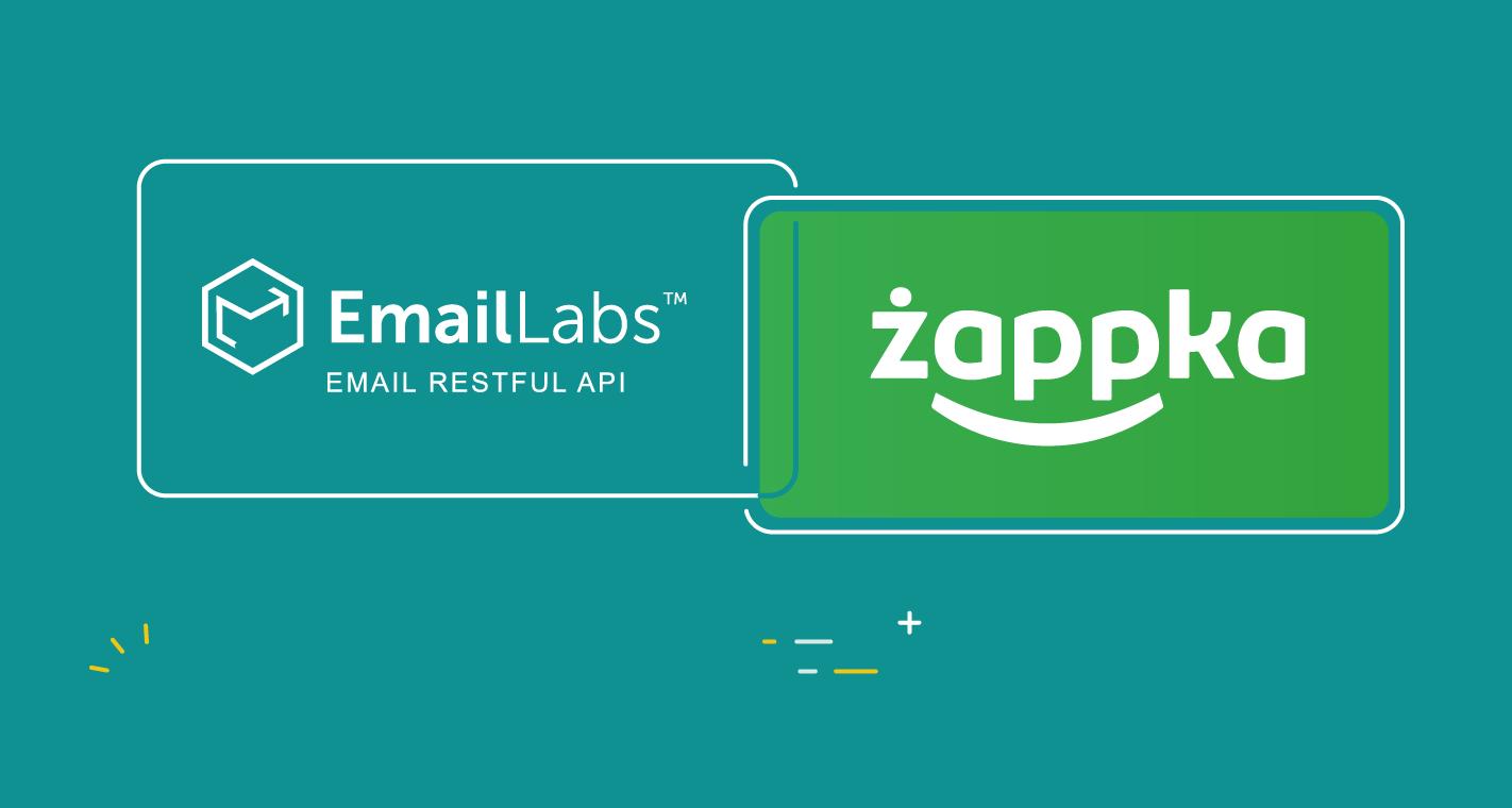 We support Żabka Polska mobile application emails
