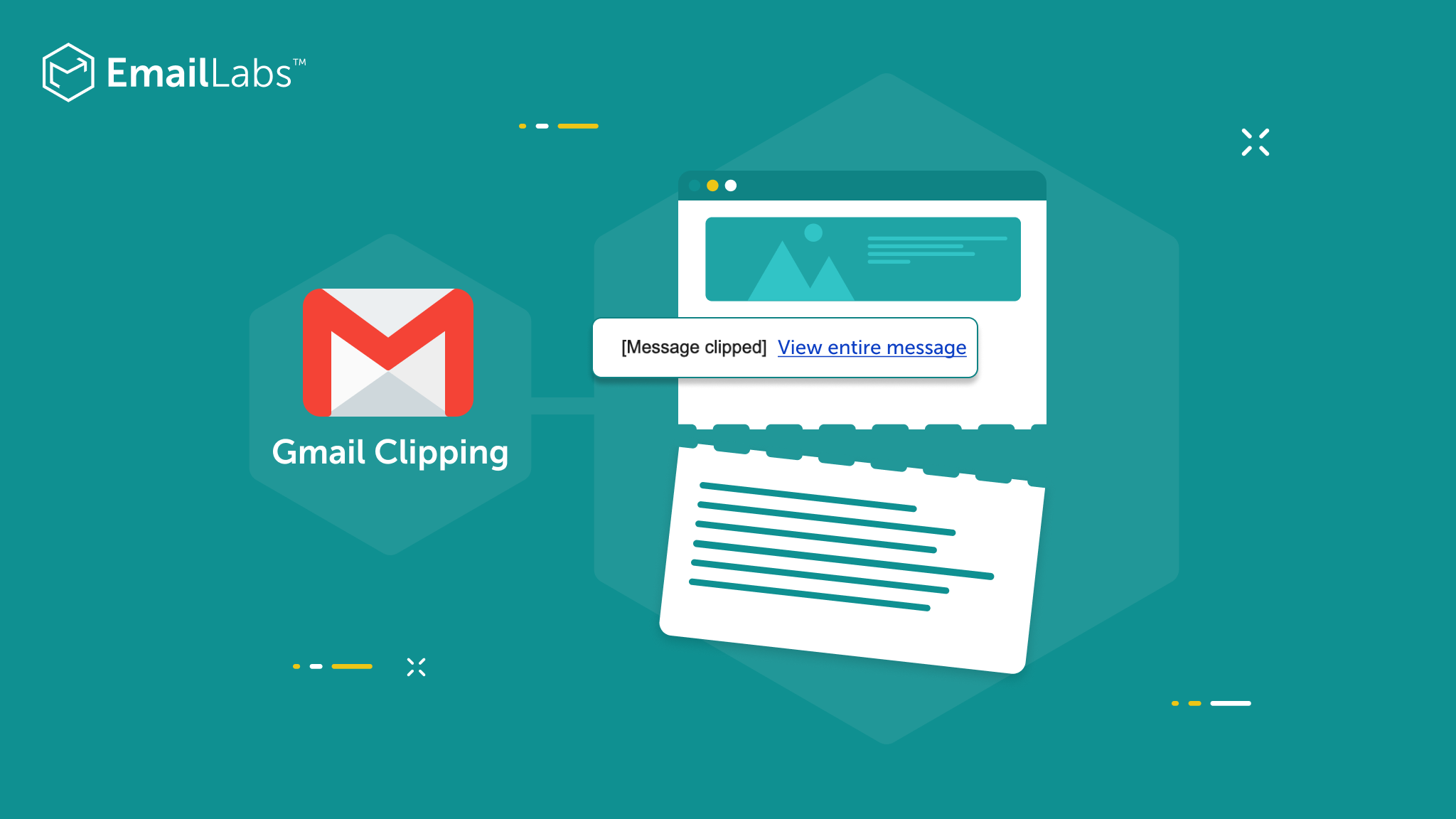 Gmail: How to prevent email clipping?